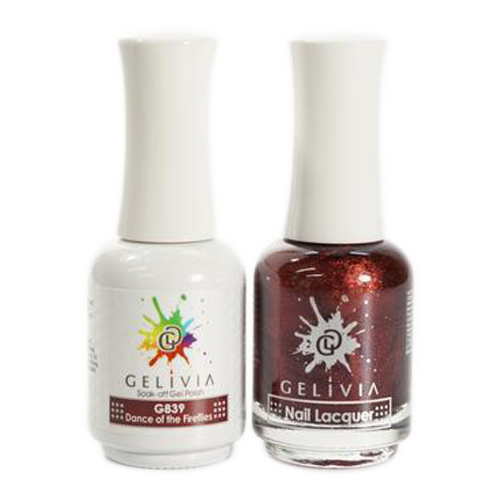 Gelivia Nail Lacquer And Gel Polish, 839, Dance of the Fireflies KK0731