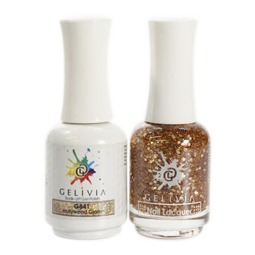 Gelivia Nail Lacquer And Gel Polish, 841, Hollywood Glam KK0731