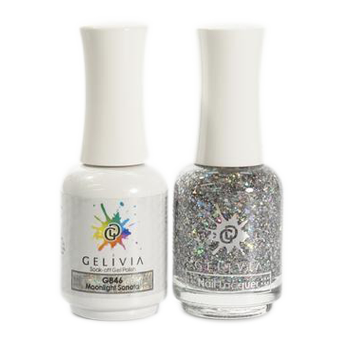 Gelivia Nail Lacquer And Gel Polish, 846, Moonlight Sonata, 0.5oz OK0304VD