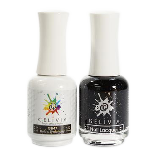 Gelivia Nail Lacquer And Gel Polish, 847, Pluto's Symphony KK0731