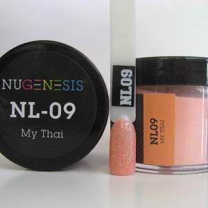 Nugenesis Dipping Powder, NL 009, My Thai, 2oz KK1009