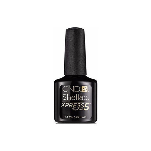 CND Shellac Gel Polish, 90928, Xpress 5 Top Coat, 0.25oz KK0824
