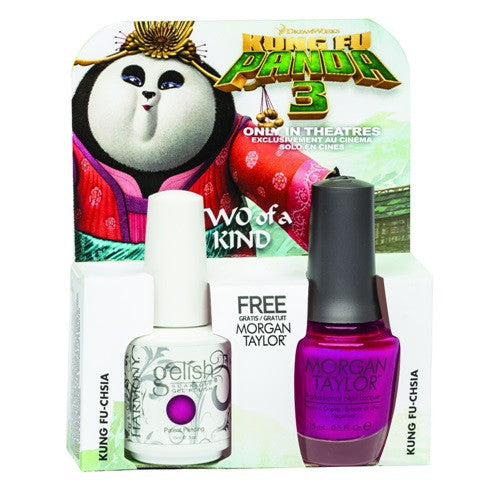 Morgan Taylor, 50198, Kungfu Panda Collection, It's Freesia-Ing Out Here! – Bright Fuchsia Pearl, 0.5oz