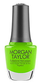 Morgan Taylor, 3110303, Make A Splash Summer 2018 Collection, Limonade In The Shade, 0.5oz