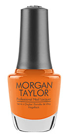 Morgan Taylor, 3110304, Make A Splash Summer 2018 Collection, You've Got Tan-Gerine Lines, 0.5oz