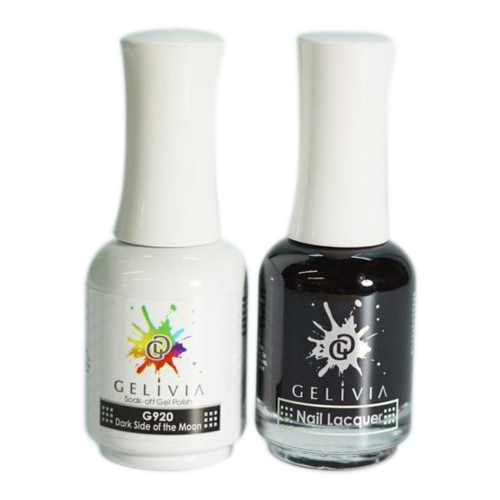 Gelivia Nail Lacquer And Gel Polish, 920, Dark Side of the Moon, 0.5oz OK0304VD