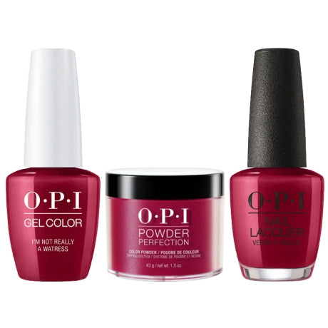 OPI 3in1, DGLH08, I'm Not Realy A Waitress, 1.5oz