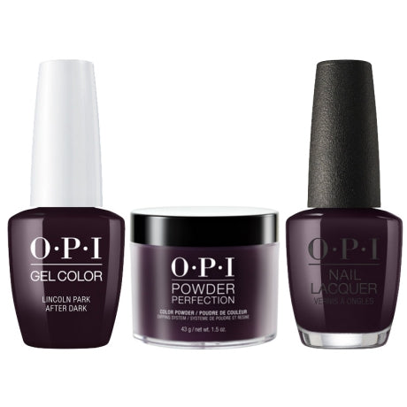 OPI 3in1, DGLW42, Lincoln Park After Dark, 1.5oz