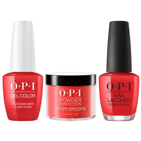 OPI 3in1, DGLN35, A Good Man-Darin is Hard to Find, 1.5oz
