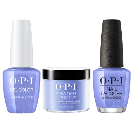 OPI 3in1, DGLN62, Show Us Your Tips, 1.5oz