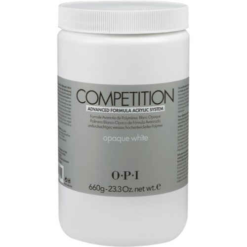 OPI Competition Powder, Opaque White, 23.3oz