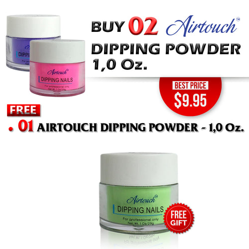Airtouch Dipping Powder 1oz, Buy 2 Get 1 Free