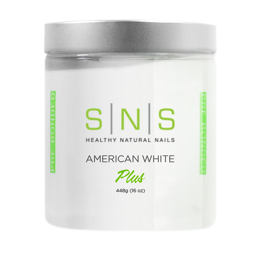 SNS Dipping Powder, 01, AMERICAN WHITE, 16oz, 18pcs/case OK0118VD