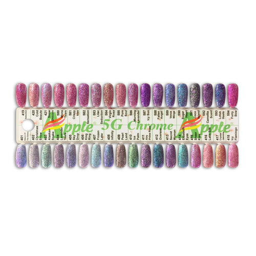 Apple 5G Chrome Collection, Tips Sample