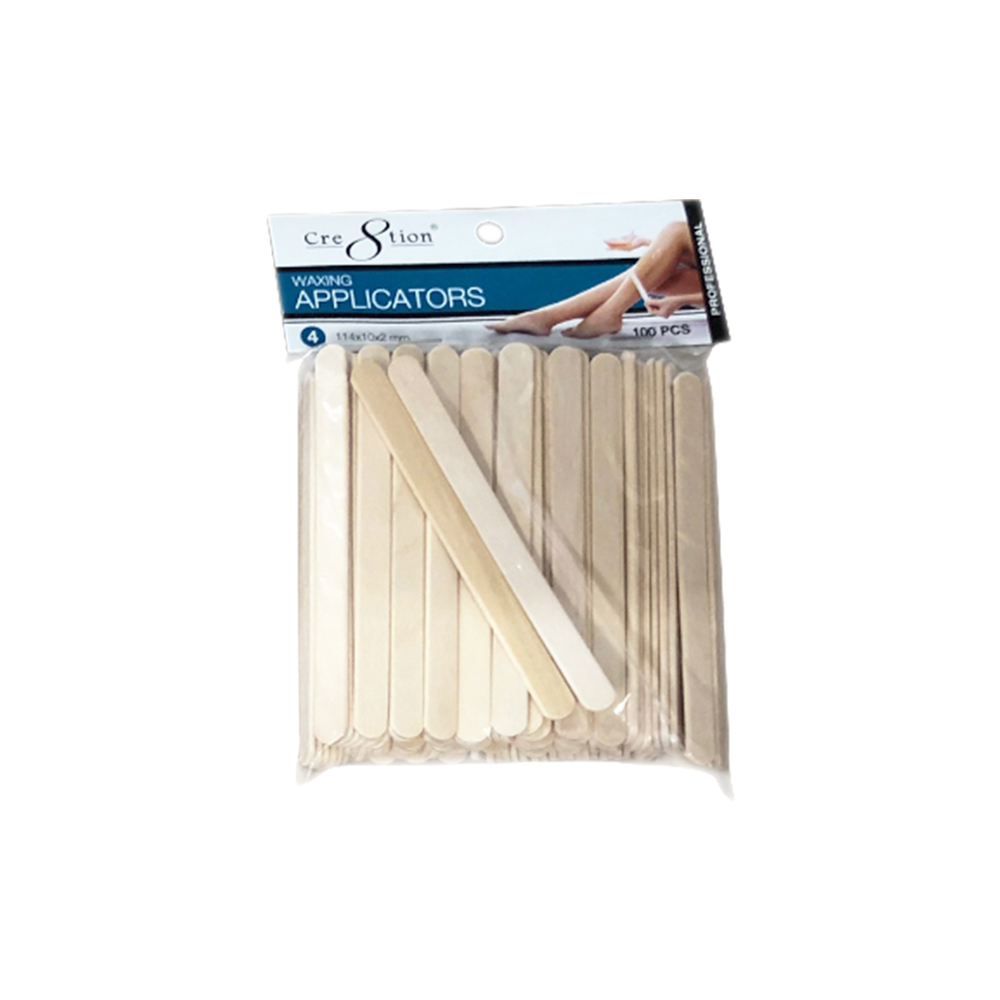 Cre8tion Disposable Applicators 4, 114x10x2mm, 100pcs/pack OK0417VD