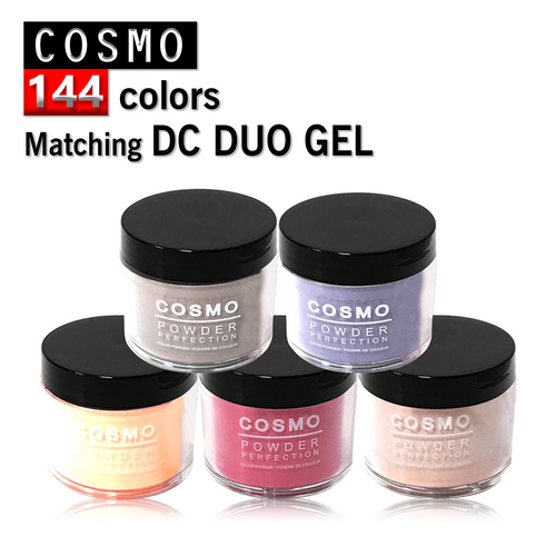 Cosmo Dipping Powder (Matching DC Duo Gel), 2oz, Full line of 144 colors