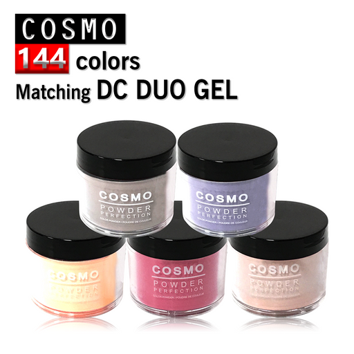 Cosmo Dipping Powder (Matching DC Duo Gel), 2oz, Full line of 144 colors KK1009