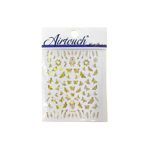 Airtouch Hollo 3D Nail Art Sticker, Butterfly Collection, BU02, Z-D3836 OK0806LK