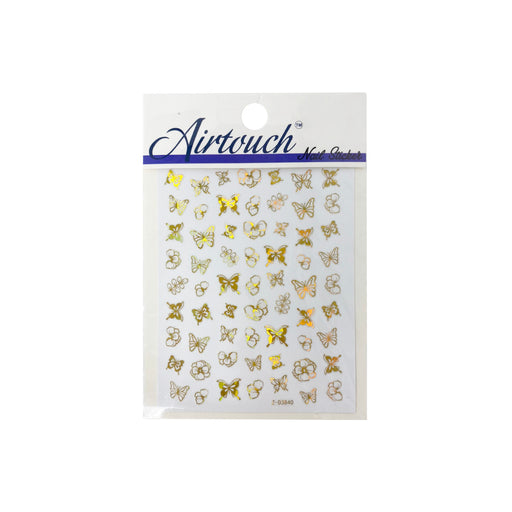 Airtouch Hollo 3D Nail Art Sticker, Butterfly Collection, BU03, Z-D3840 OK0806LK