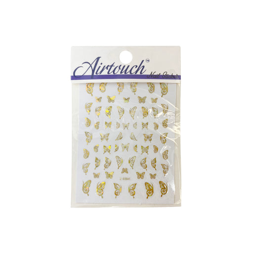 Airtouch Hollo 3D Nail Art Sticker, Butterfly Collection, BU04, Z-D3841 OK0806LK