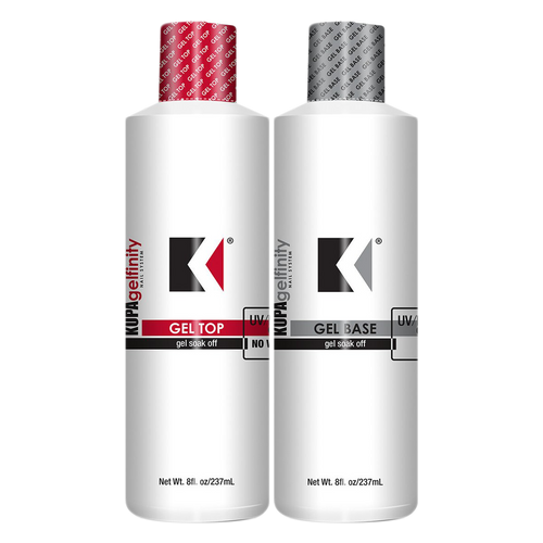 Kupa Gelfinity, Base and Top Coat, 8oz