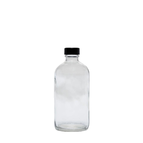 Cre8tion Clear Glass Bottle, 8oz, 26089
