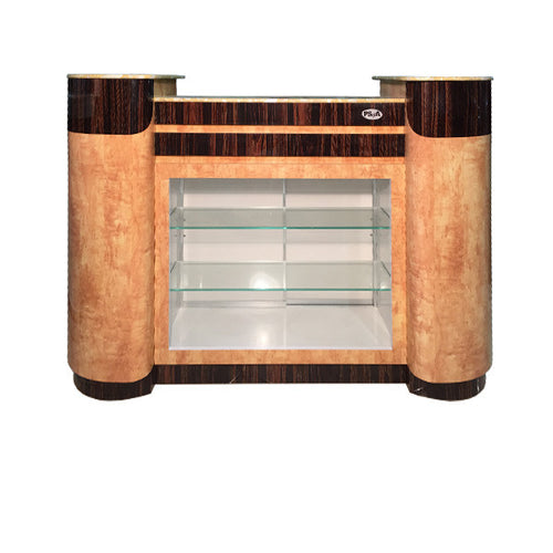 SPA Reception Desk, Chestnut/Cherry, C-108CC (NOT Included Shipping Charge)