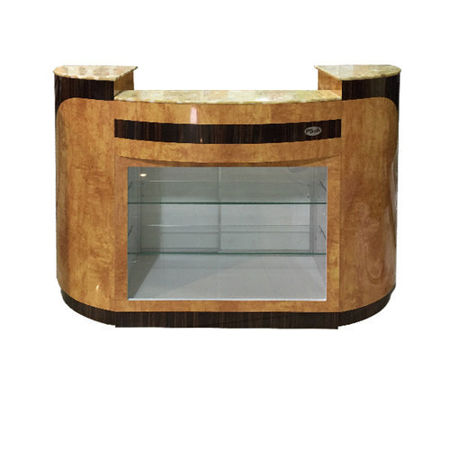 SPA Reception Desk, Chestnut/Cherry, C-209CC (NOT Included Shipping Charge)