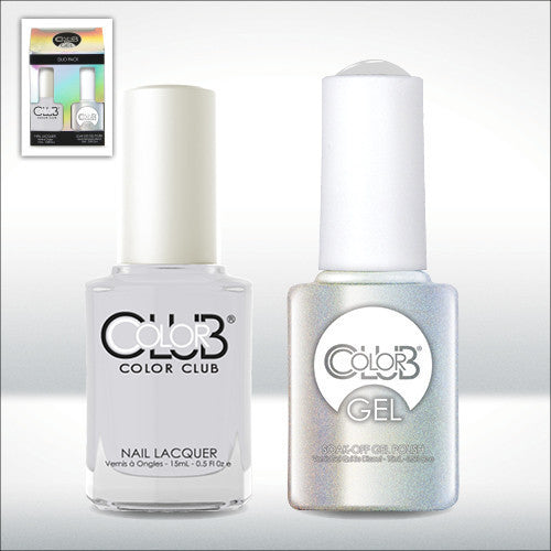 Color Club Nail Lacquer And Gel Polish, Silverlake, 0.5oz, GEL1000 KK