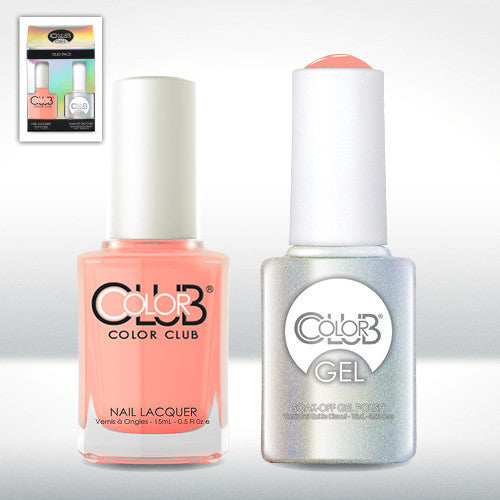 Color Club Nail Lacquer And Gel Polish, East Austin, 0.5oz, GEL1002 KK