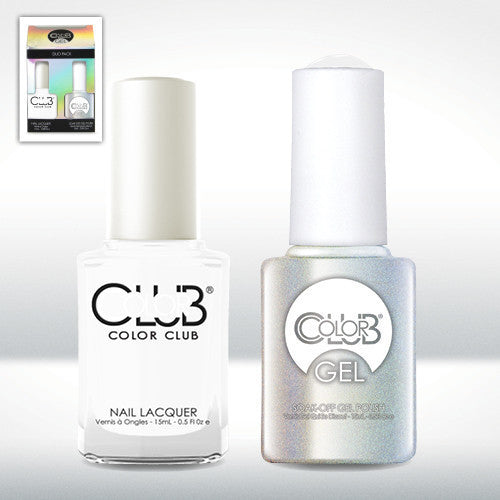 Color Club Nail Lacquer And Gel Polish, French Tip, 0.5oz, GEL24 KK