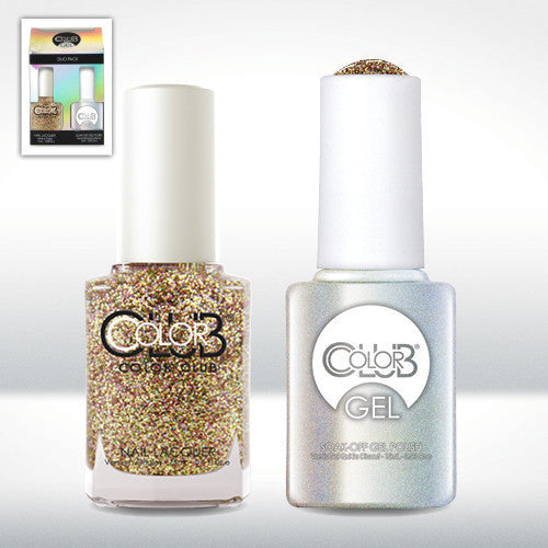 Color Club Nail Lacquer And Gel Polish, Gingerbread, 0.5oz, GEL5259 KK