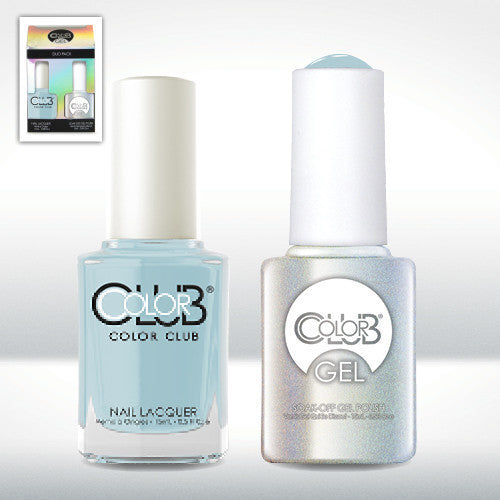 Color Club Nail Lacquer And Gel Polish, Take Me To Your Chateau, 0.5oz, GEL878 KK