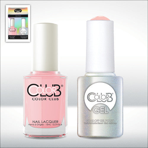 Color Club Nail Lacquer And Gel Polish, More Amour, 0.5oz, GEL933 KK