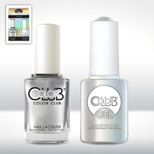 Color Club Nail Lacquer And Gel Polish, On The Rocks, 0.5oz, GEL987 KK