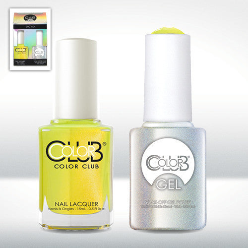 Color Club Nail Lacquer And Gel Polish, Not-So-Mellow-Yellow, 0.5oz, GELAN27 KK