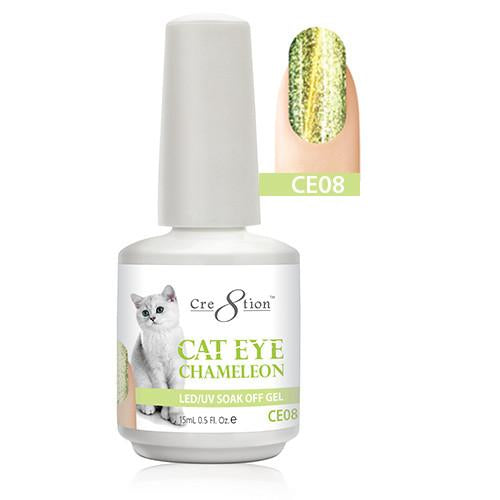 Cre8tion Cat Eye Chameleon Gel Polish, 0916-0578, 0.5oz, CE08 KK1010