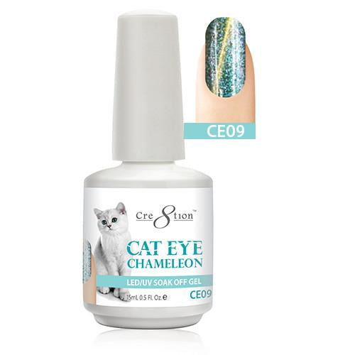 Cre8tion Cat Eye Chameleon Gel Polish, 0916-0579, 0.5oz, CE09 KK1010