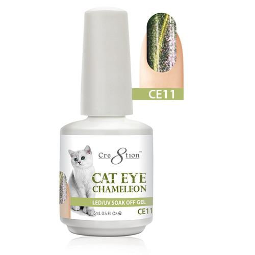 Cre8tion Cat Eye Chameleon Gel Polish, 0916-0581, 0.5oz, CE11 KK1010