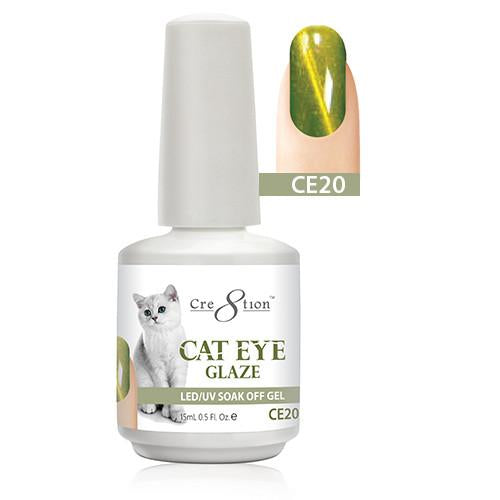 Cre8tion Cat Eye Glaze Gel Polish, 0916-0469, 0.5oz, CE20 KK1010