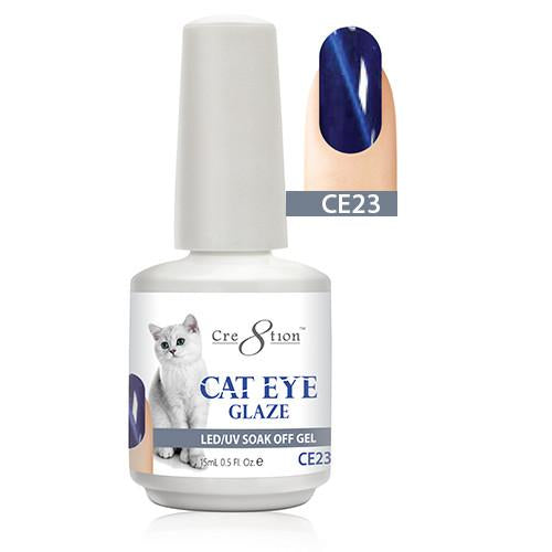 Cre8tion Cat Eye Glaze Gel Polish, 0916-0472, 0.5oz, CE23 KK1010