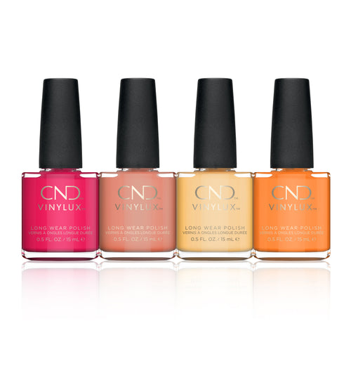 CND Vinylux 1, Boho Spirit Collection, Full line of 4 colors (from 278 to 281)
