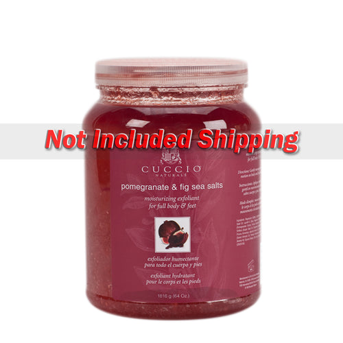 Cuccio Sea Salts, Pomegranate & Fig, 64oz, 3163