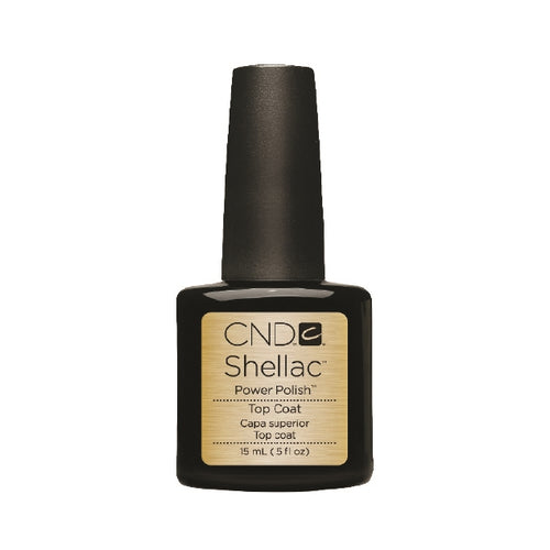 CND Shellac Gel Polish, 91422, Duraforce Top Coat, 0.50oz KK0824