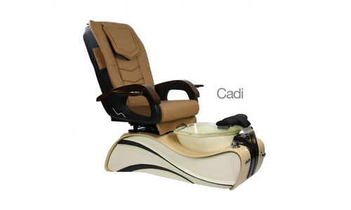 Cadi, Pedicure Spa Chair, Coffee Cream KK (NOT Included Shipping Charge)