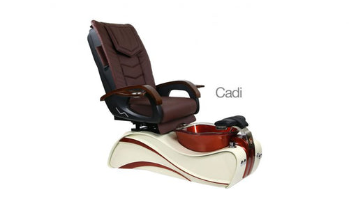 Cadi, Pedicure Spa Chair, Cream KK (NOT Included Shipping Charge)