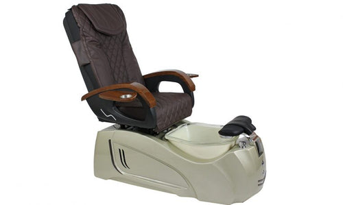 Malo, Pedicure Spa Chair, Dark Grown KK (NOT Included Shipping Charge)