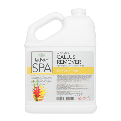 La Palm, Callus Remover, Tropical Citrus, 1 Gal KK