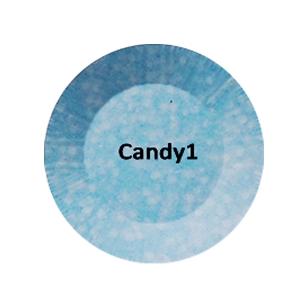 Chisel 2in1 Acrylic/Dipping Powder, Candy Collection, 2oz, Candy01 BB KK1220