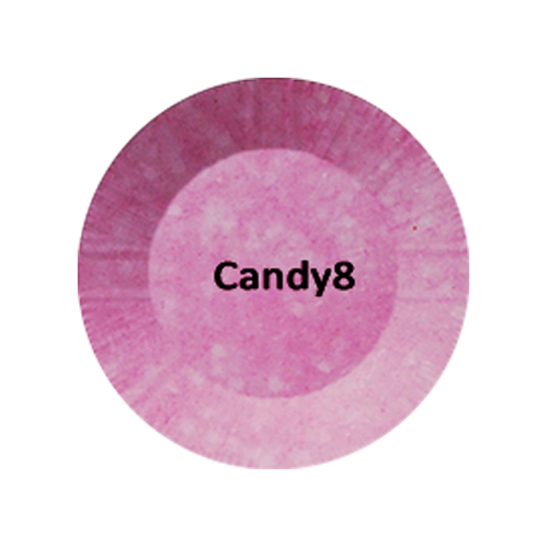 Chisel 2in1 Acrylic/Dipping Powder, Candy Collection, 2oz, Candy08 BB KK1003